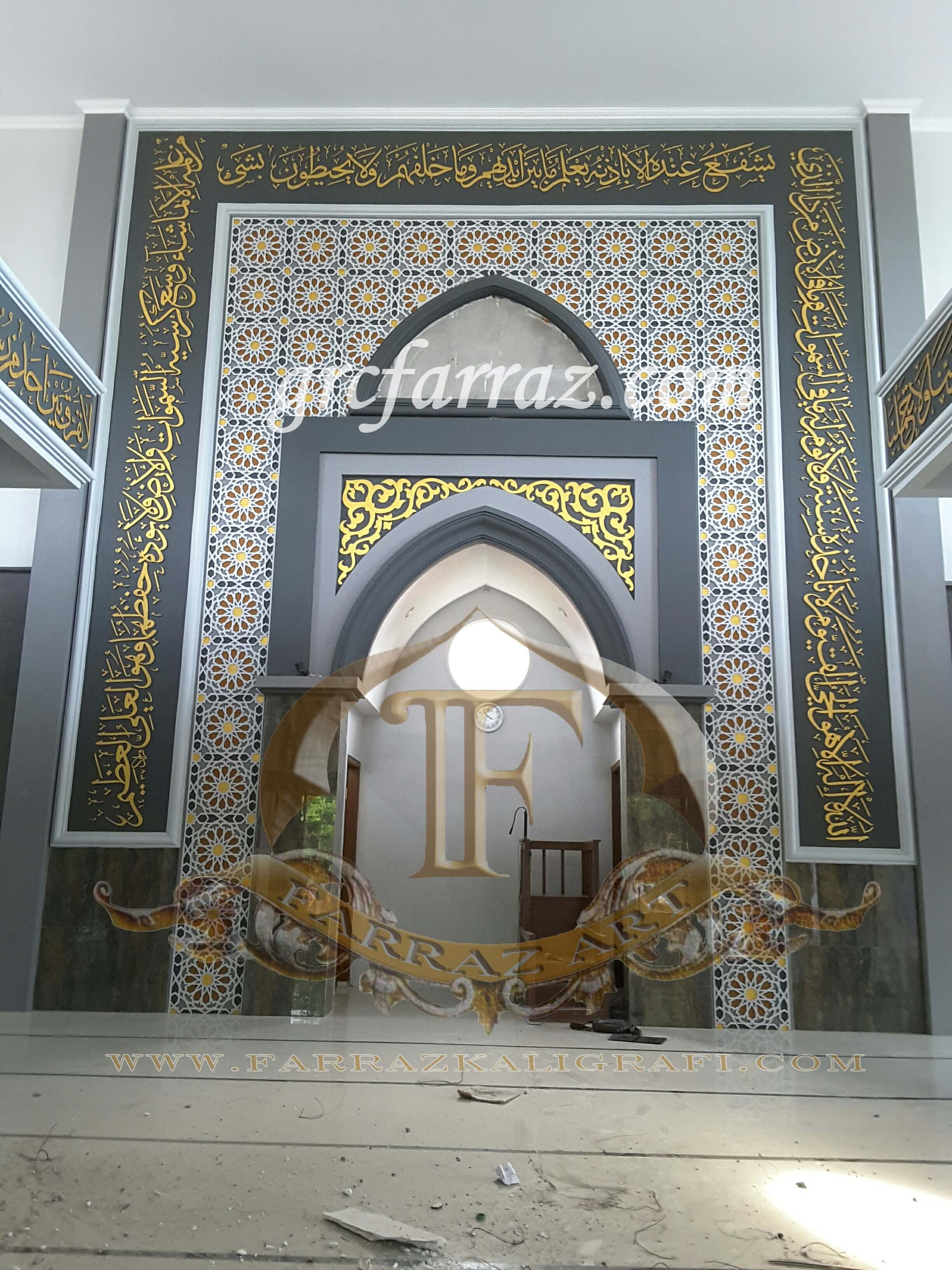 Mihrab Masjid Karya Farraz Visual Art Farraz Visual Art