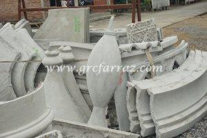 Panel Panel Grc Menara Masjid Kubah Emas Farraz Visual Art