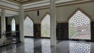 grc kerawangan eksterior masjid